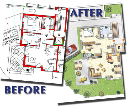 Before After. Floor Plan Design ...